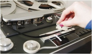 Splicing A Reel To Reel Tape - Male Voice Talent - Marc Scott