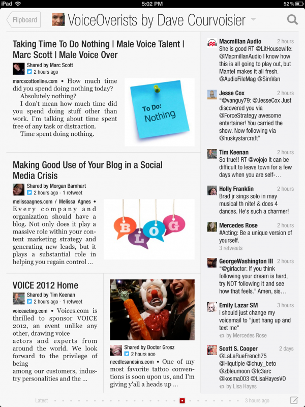 Keeping Up With Twitter Via Flipboard