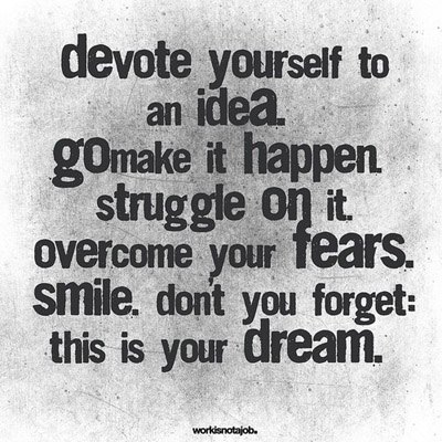 This Is Your Dream!