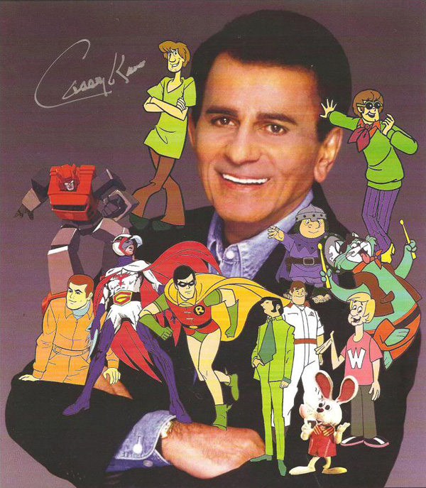 Saturday Morning Cartoons – Casey Kasem