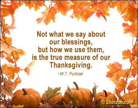 Happy Thanksgiving 2012