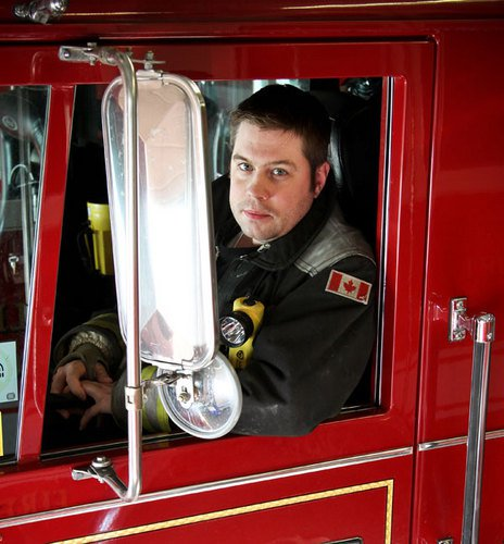 A Day In The Life Of A Firefighting Voice Talent