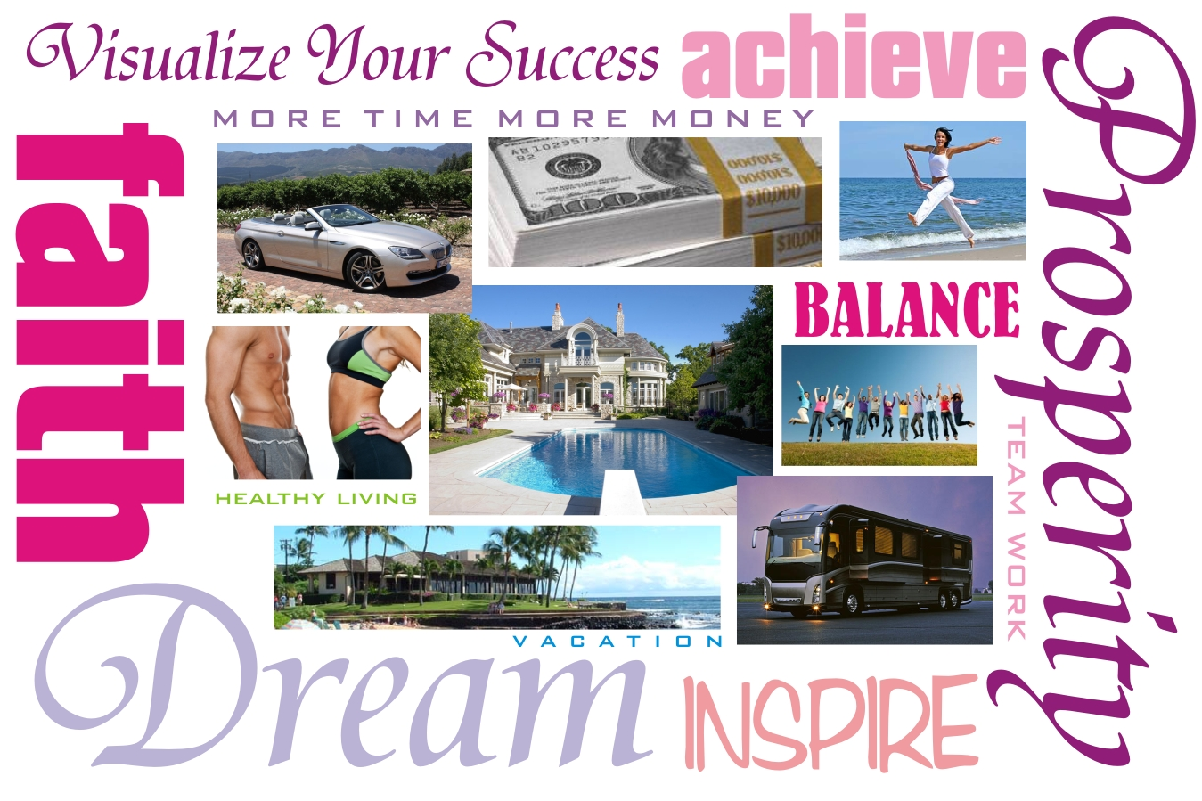 Can a dream board bring you more voice over work for Home design vision board