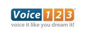 voice123 voice it like you dream it