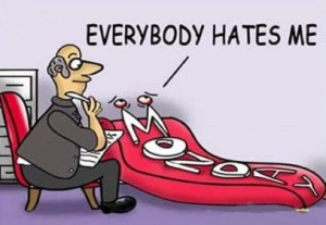 Monday: Everybody Hates Me