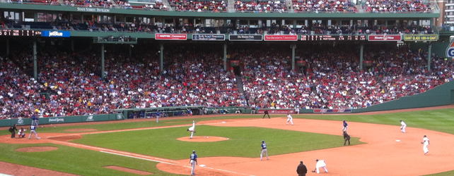 Mother's Day At Fenway Park