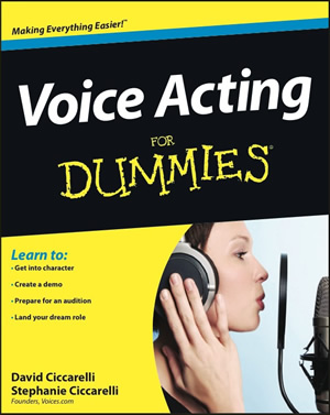 Voice Acting For Dummies Cover 300