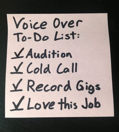 voiceover-to-do-list