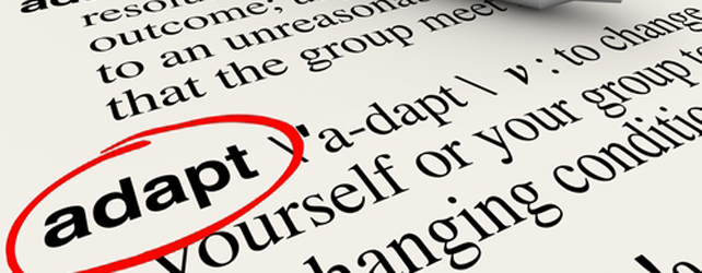 The Importance Of Being Adaptable