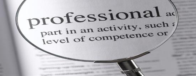 what is a professional A professional is someone who has a specialised job which only very well trained people can perform, such as doctors, lawyers, and teachers these occupations are known as professional occupations these occupations are known as professional occupations.