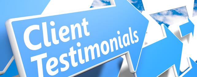 Why You Need Testimonials