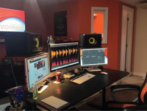 Marc Scott Voice Over Actor Professional Home Studio